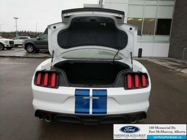 2017 Ford Mustang Shelby GT350 5.2L 526HP Painted Black Roof Blue W/ Black Stripes