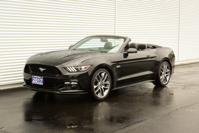 2017 Ford Mustang GT Premium / Manual / Accident Free