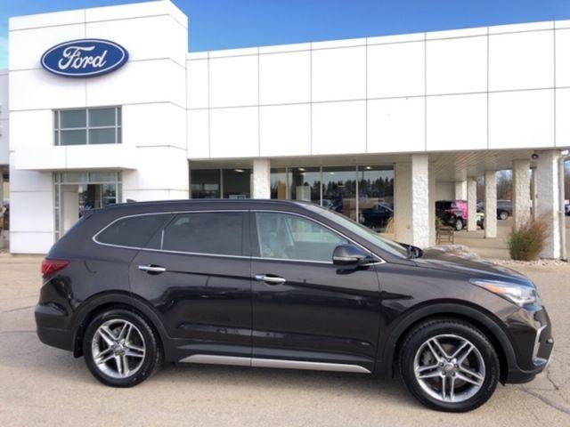 2017 Hyundai Santa Fe XL Ultimate  -  Leather Seats - $189 B/W