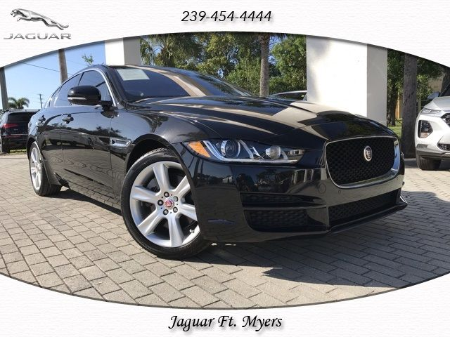 certified 2017 jaguar xe for sale in fort myers, fl | jaguar usa