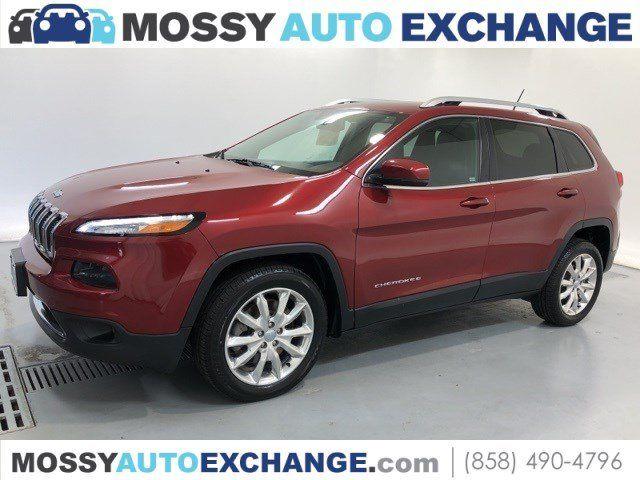 Jeep Dealership San Diego >> 2017 Jeep Cherokee For Sale In San Diego San Diego Area Dealership