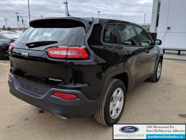 2017 Jeep Cherokee Sport  |3.2L|Rem Start|Cold Weather Pkg