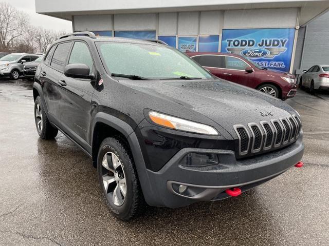 2017 Jeep Cherokee Trailhawk 4x4 *Ltd Avail*