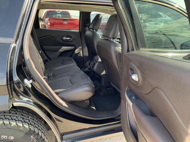 2017 Jeep Cherokee L Plus Pkg Trailhawk 4x4