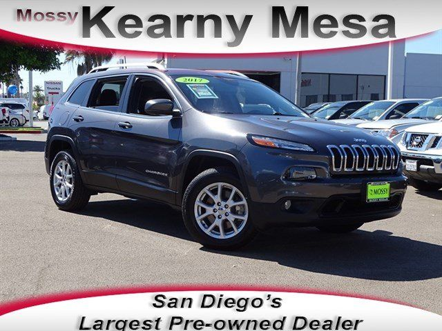 Jeep Dealership San Diego >> 2017 Jeep Cherokee For Sale In San Diego San Diego Area