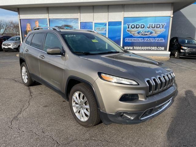 2017 Jeep Cherokee Limited 4x4