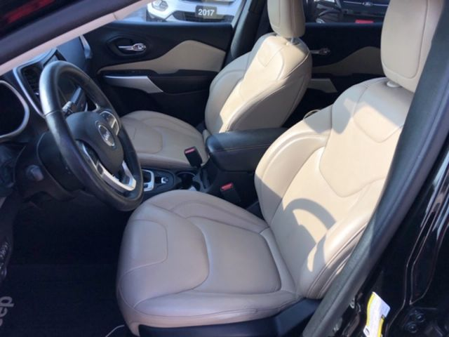 2017 Jeep Cherokee Limited  - Leather Seats -  Bluetooth - $157 B/W