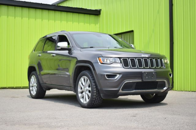 2017 Jeep Grand Cherokee Limited  - Leather Seats