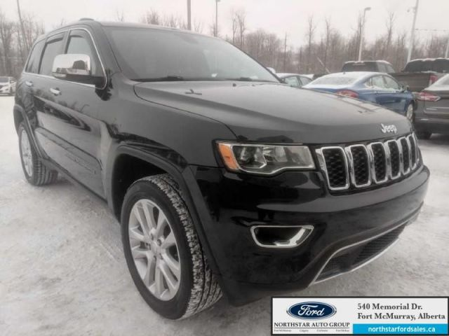 2017 Jeep Grand Cherokee Limited  |3.6L|Rem Start|Power Sunroof|Heated Steering Wheel
