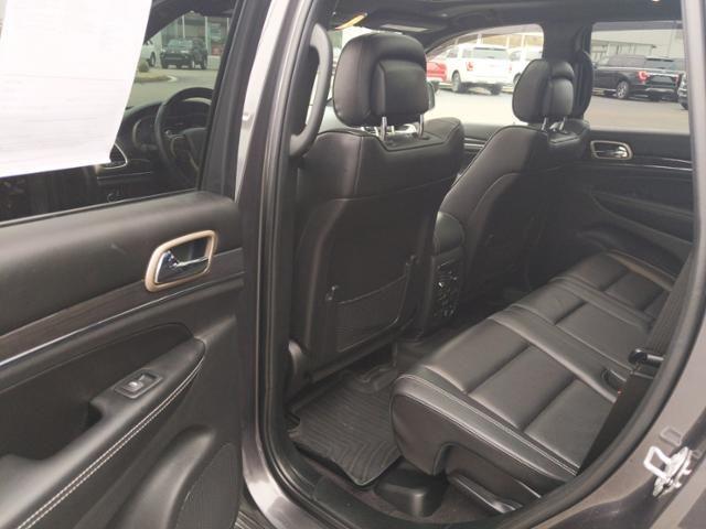 2017 Jeep Grand Cherokee Overland 4x4