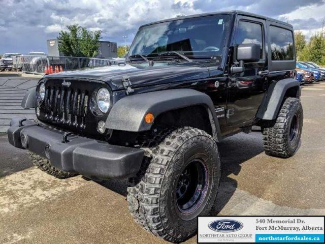 2017 Jeep Wrangler Sport  |3.6L|Black Jeep Freedom Top Hardtop|Low Mileage