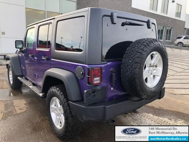 2017 Jeep Wrangler Unlimited Sport S  |3.6L|Cold Weather Group|Black Jeep Freedom Hardtop