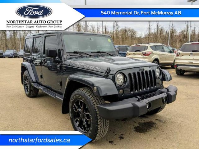 2017 Jeep Wrangler Unlimited Smoky Mountain  |ALBERTA'S #1 PREMIUM PRE-OWNED SELECTION