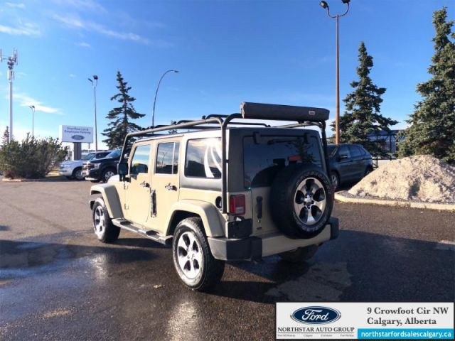 2017 Jeep Wrangler Unlimited Sahara   | CAMPERS SPECIAL| 4 DOOR| SAHARA| AUTOMATIC|- $258 B/W