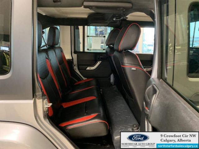 2017 Jeep Wrangler Unlimited Sahara  |OUTDOOR SPECIAL| LEATHER|ROOF TENT|  - $320 B/W