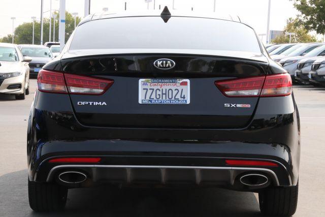 2017 Kia OPTIMA Sedan SX