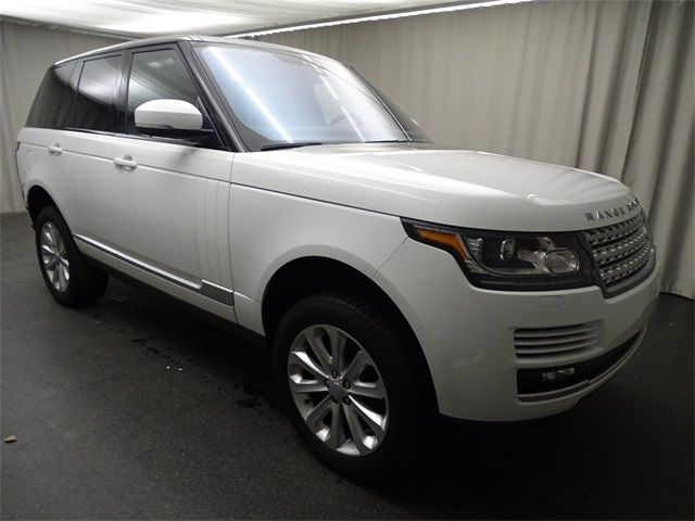 Certified Pre Owned 2017 Range Rover Details
