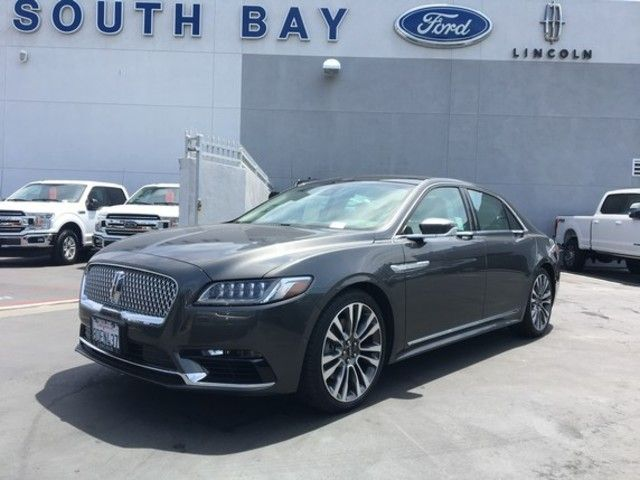 Certified 2017 Lincoln Continental Reserve Awd