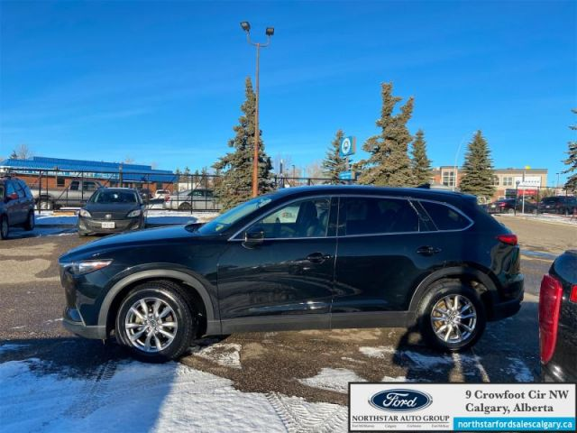 2017 Mazda CX-9 GS-L  |LEATHER| SUNROOF| NAV| 7 SEATER| - $202 B/W