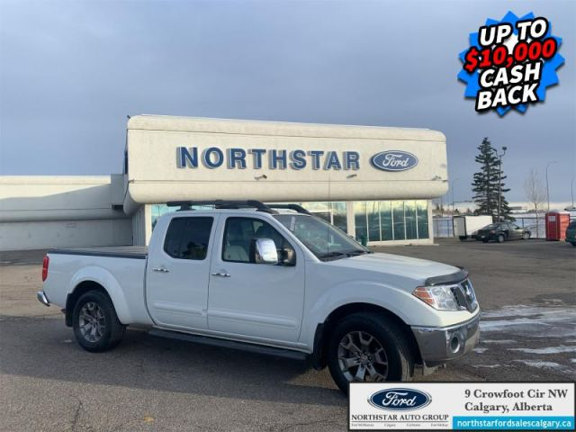 2017 Nissan Frontier SL  |LEATHER| NAV| SUNROOF| LOW KMS|  - $258 B/W