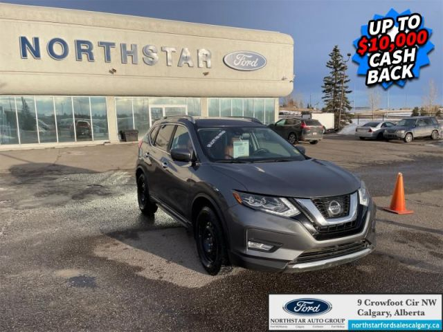 2017 Nissan Rogue SL Platinum  |LEATHER| MOONROOF| NAV| TWO SETS OF RIMS AND WHEEL