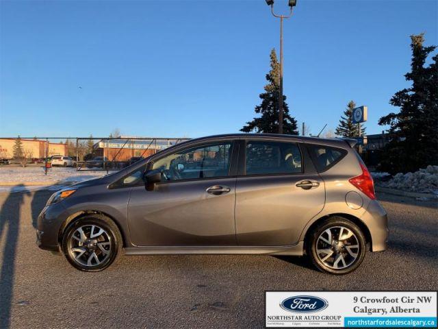 2017 Nissan Versa Note SR   SR  CLOTH  HEATED SEATS  AUTO  LOW KMS  - $119 B/W