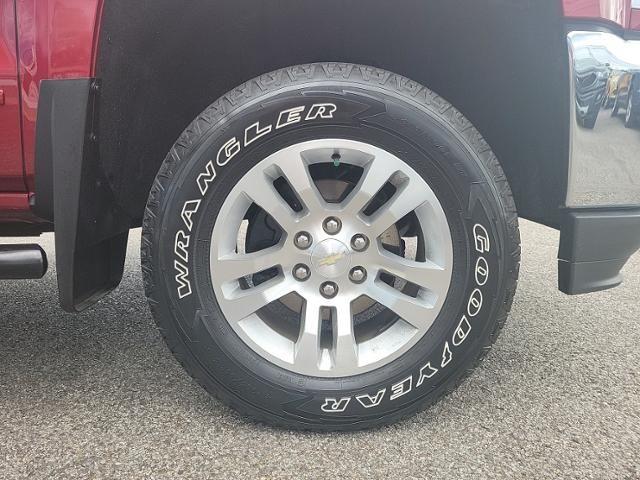 2018 Chevrolet Silverado 1500 2WD Double Cab 143.5 LT w/1LT
