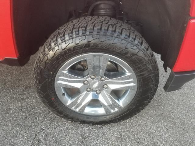 2018 Chevrolet Silverado 1500 4WD Crew Cab 143.5 Custom