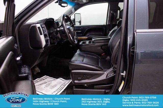 2018 Chevrolet Silverado 1500 LTZ