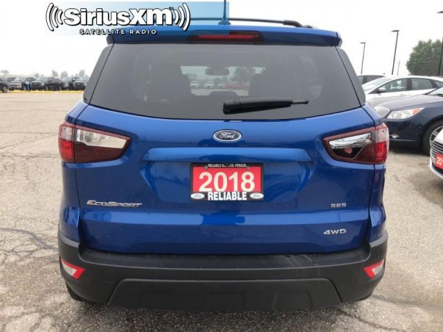 2018 Ford EcoSport SES AWD   - Bluetooth - Low Mileage- Sunroof-