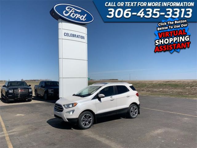 2018 Ford EcoSport Titanium AWD  $95 / Week