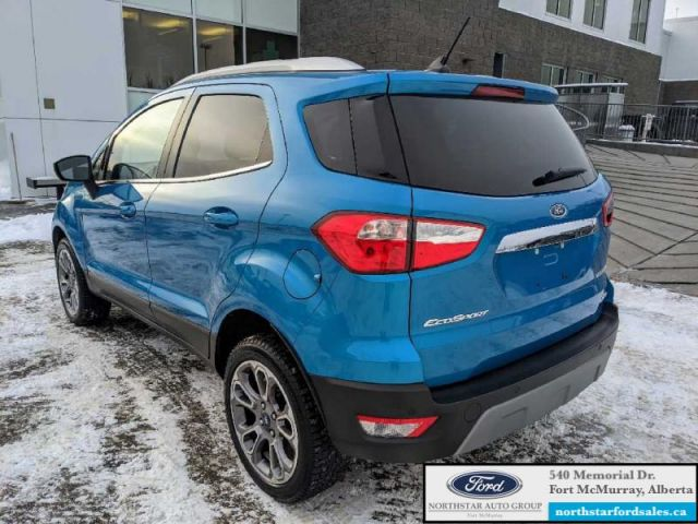 2018 Ford EcoSport Titanium AWD   CERTIFIED PRE-OWNED