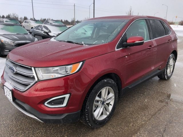 2018 Ford Edge SEL  - Bluetooth -  Heated Seats - $211.71 B/W