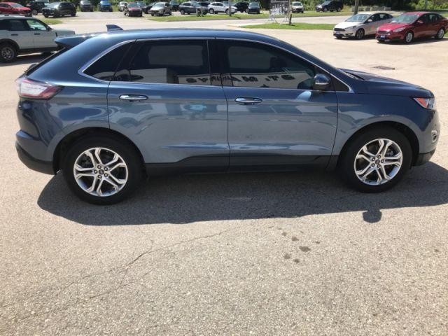 2018 Ford Edge Titanium  - Navigation - Cooled Seats - $275 B/W