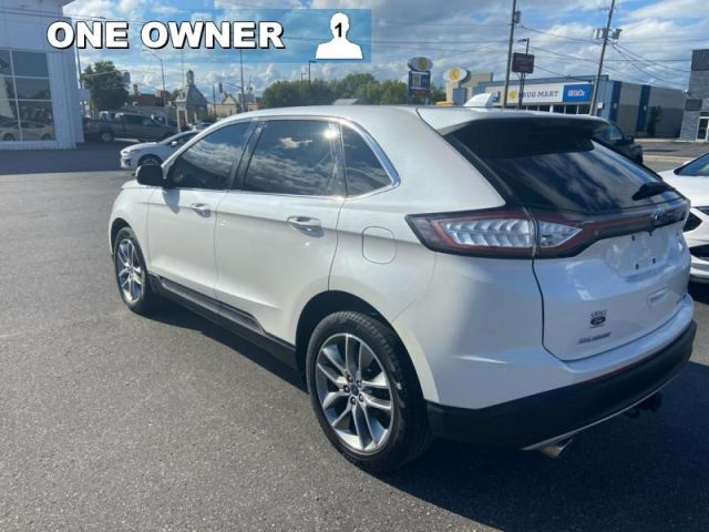 2018 Ford Edge Titanium  - One owner - Trade-in - $214 B/W
