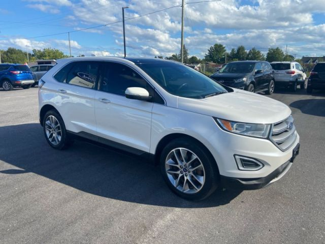 2018 Ford Edge Titanium  - One owner - Trade-in - $207 B/W