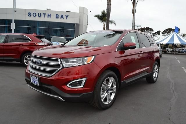 2018 ford edge titanium awd los angeles ca for sale by south bay ford. Black Bedroom Furniture Sets. Home Design Ideas
