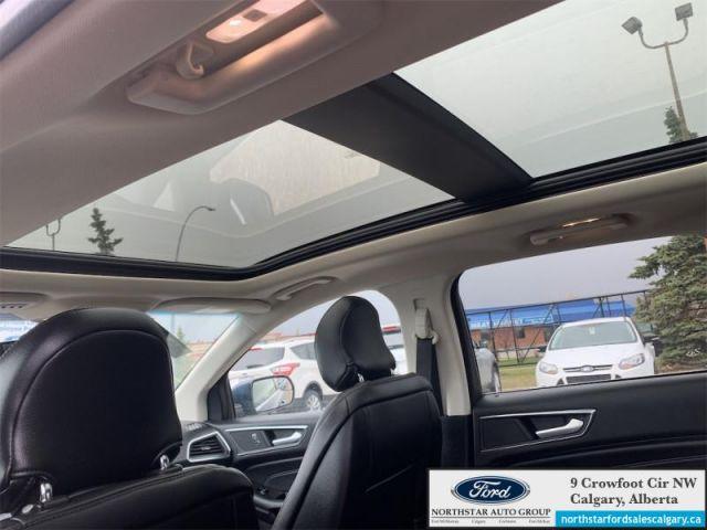 2018 Ford Edge Titanium  |LEATHER| MOONROOF| NAV| ECOBOOST| COLD WEATHER PKG| -