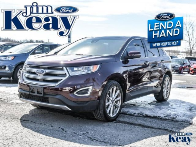2018 Ford Edge Titanium  Demo - Leather Seats -  Bluetooth