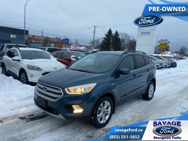 2018 Ford Escape SEL  - One owner - Trade-in - Ex-lease - $167 B/W