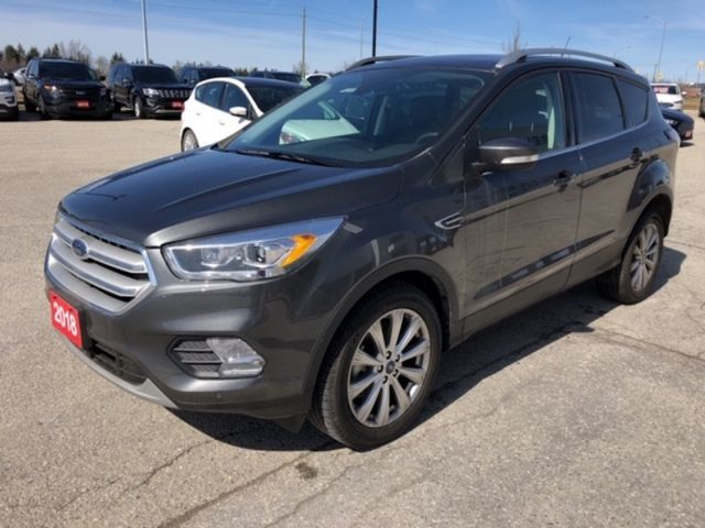 2018 Ford Escape Titanium  - Leather Seats -  Bluetooth - $198.68 B/W