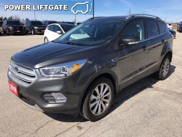 2018 Ford Escape Titanium  - Leather Seats -  Bluetooth - $198.68 B/W