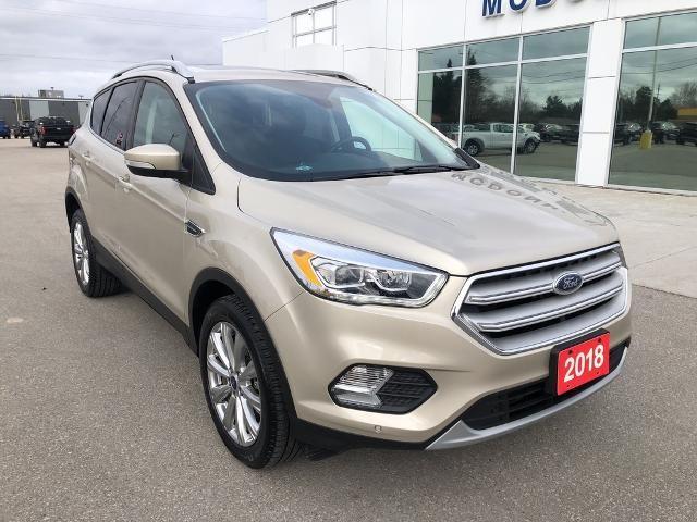 2018 Ford Escape Titanium, 2.0L, 4WD, Nav, Ford Pass