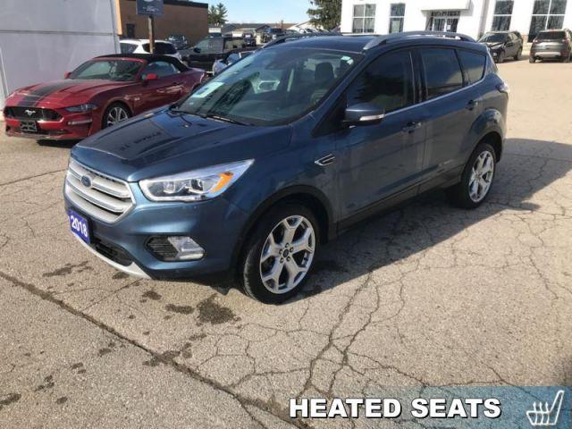 2018 Ford Escape Titanium  - Leather Seats -  Bluetooth - $195 B/W