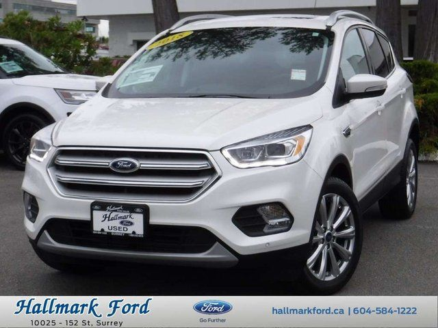 2018 Ford Escape Titanium White, 2 0L Inline4 Turbo