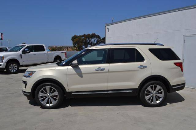 Pre Owned 2018 Ford Explorer Limited Fwd For Sale Near