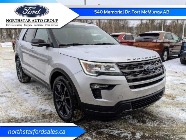 2018 Ford Explorer XLT 4WD  |2 YEARS / 40,000KMS EXTENDED POWERTRAIN WARRANTY INCLU