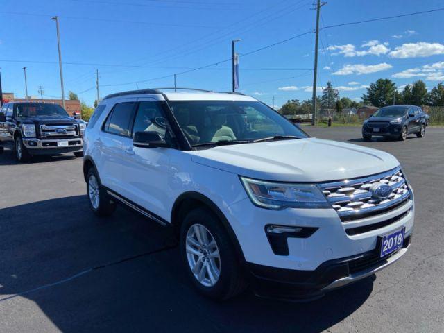 2018 Ford Explorer XLT  - One owner - Ex-lease - $234 B/W