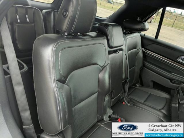 2018 Ford Explorer Limited  |MOONROOF| BENCH| NAV| LEATHER| TOW PKG| - $265 B/W