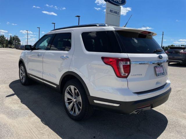 2018 Ford Explorer Limited  -  - Air - Rear Air